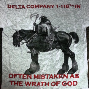 Delta Company 1-116th IN