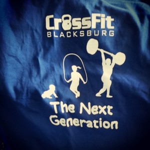 Crossfit Blacksburg Toddler Tees