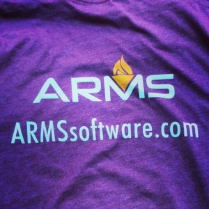 ARMS Software – discharge waterbased hybrid on cotton poly blends