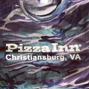 Pizza Inn camo