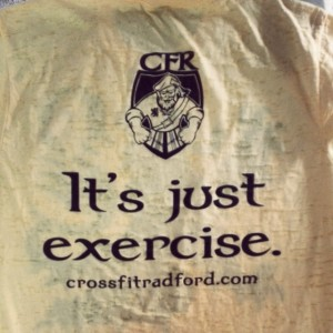 Crossfit Radford – It's just exercise.