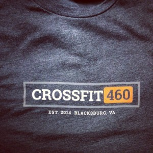 Crossfit 460 – waterbased discharge screen printing