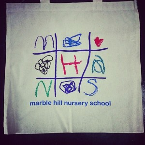 Marble Hill Nursery School totes & tees!