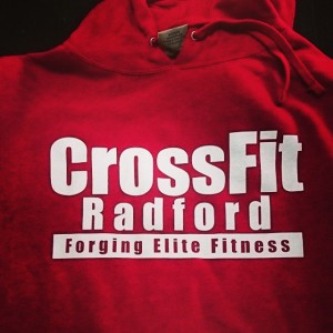 Crossfit Radford hoodies