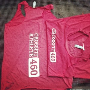 Crossfit 460 – stretch waterbased printing