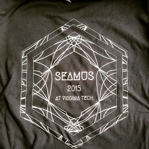 SEAMUS Virginia Tech – School of Performing Arts. Waterbased printing