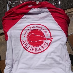 2017 Jollibeasts – 3/4 sleeve baseball tees