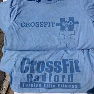 Crossfit Radford & Crossfit 460 – New River Valley Autism Action Groups Fundraising WOD