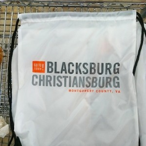 Montgomery County Regional Tourism bags!