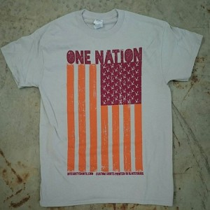 You asked for them! Now for sale on our website: www.integrityshirts.com/one-nation