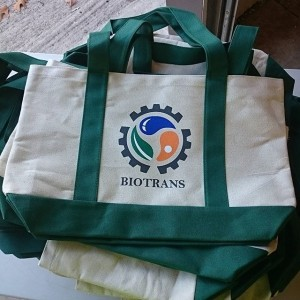 Virginia Tech Biotrans – tote printing #totes #screenprinting