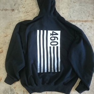 Crossfit 460 cold weather gear #crossfit #hoodies #screenprinting #crossfit460