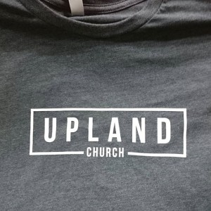 Upland Church – #waterbased #screenprinting