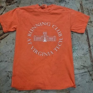 Running Club at Virginia Tech #screenprinting