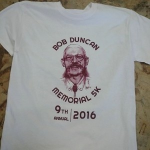 Bob Duncan Memorial 5k – #screenprinting #blacksburgva