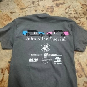 John Allen Special #screenprinting #becauseracecar