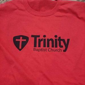 Trinity Baptist Church #screenprinting