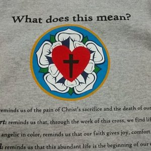 Highlander Lutherans Campus Ministry – 7 color print #screenprinting #lutheran