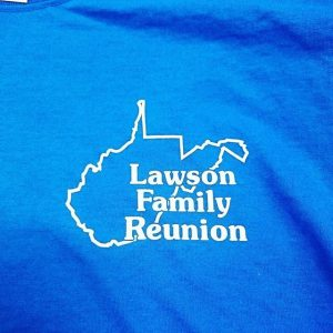Lawson Family Reunion #screenprinting