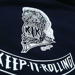 Keep It Rolling KIR #screenprinting #bmx #freestyle #skateordie #skateboarding