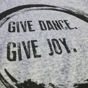 Give Dance. Give Joy. #screenprinting #waterbased #matsuicolor #triblends