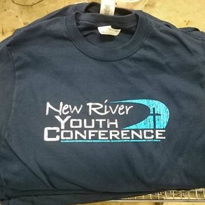 New River Youth Conference #screenprinting