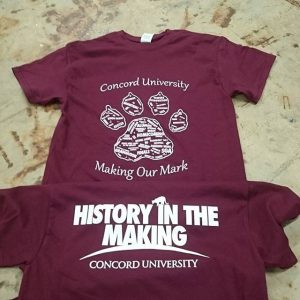 Concord University – History in the Making #screenprinting