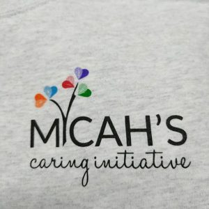 Got a logo with a lot of colors? We can help! Micah's Caring Initiative