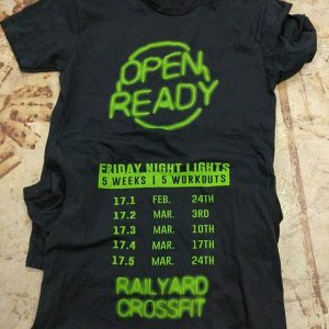 Ready for the open? Railyard Crossfit is! #waterbased #matsuicolor #screenprinting