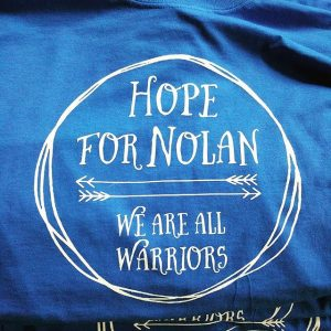 Hope for Nolan tees #screenprinting