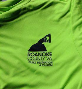 Roanoke County Parks, Recreation & Tourism #screenprinting #roanokeva