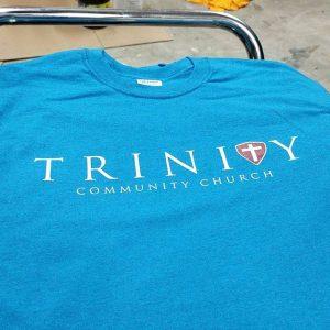 Trinity Community Church #screenprinting